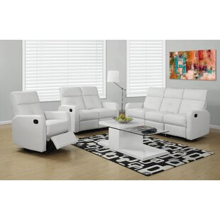 Monarch Specialties Inc. Configurable Reclining Living Room Set