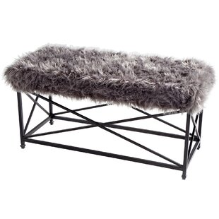 Ushanka Wood/Metal Bench