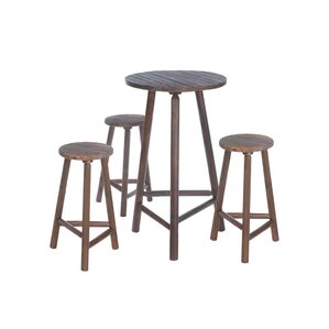 4 Piece Pub Table Set by Zingz & Thingz