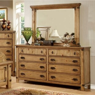 August Grove Ilyan 8 Drawer Double Dresser w..