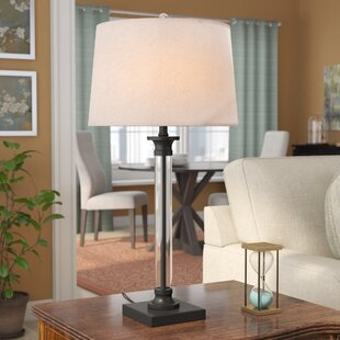 Exeter Glass and Metal 30 Table Lamp (Set of 2)