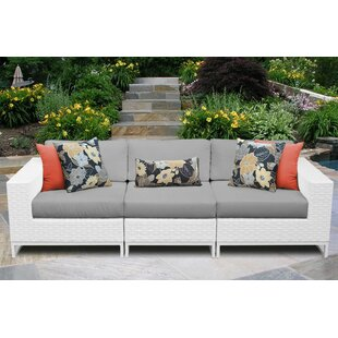 Miami Patio Sofa with Cushions