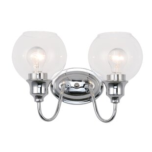 Affordable Price Hunley 2-Light Vanity Light By Charlton Home