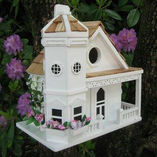 Home Bazaar Poly Resin Birdhouse Wayfair