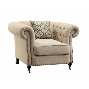 Oribe Chesterfield Chair by Darby Home Co