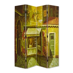 French 4 Panel Room Divider by Screen Gems