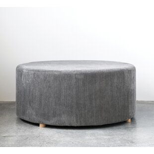 West Broadway Corduroy Cocktail Ottoman by Union Rustic