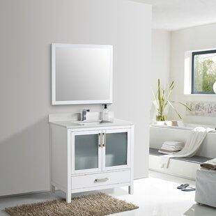 Datnow 22 Single Bathroom Vanity Set