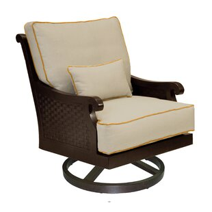 Jakarta High Back Swivel Rocking Chair with Cushion
