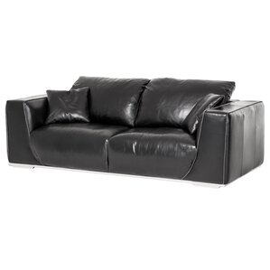 Mia Bella Sophia Leather Sofa by Michael Amini (AICO)