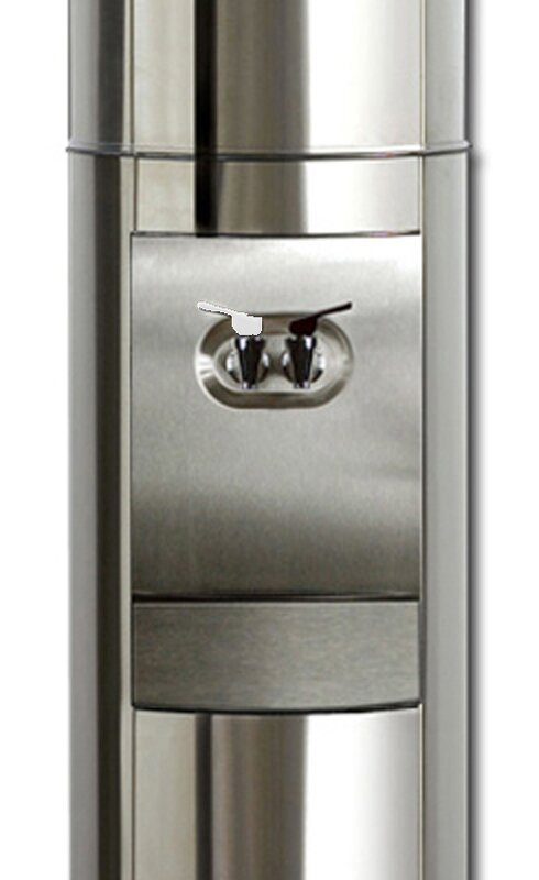 S2 Stainless Steel Top loading Free-standing Room Temperature and Cold Water Cooler