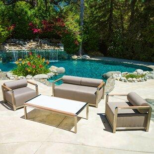 Home Loft Concepts Clairemont 4 Piece Sofa Set