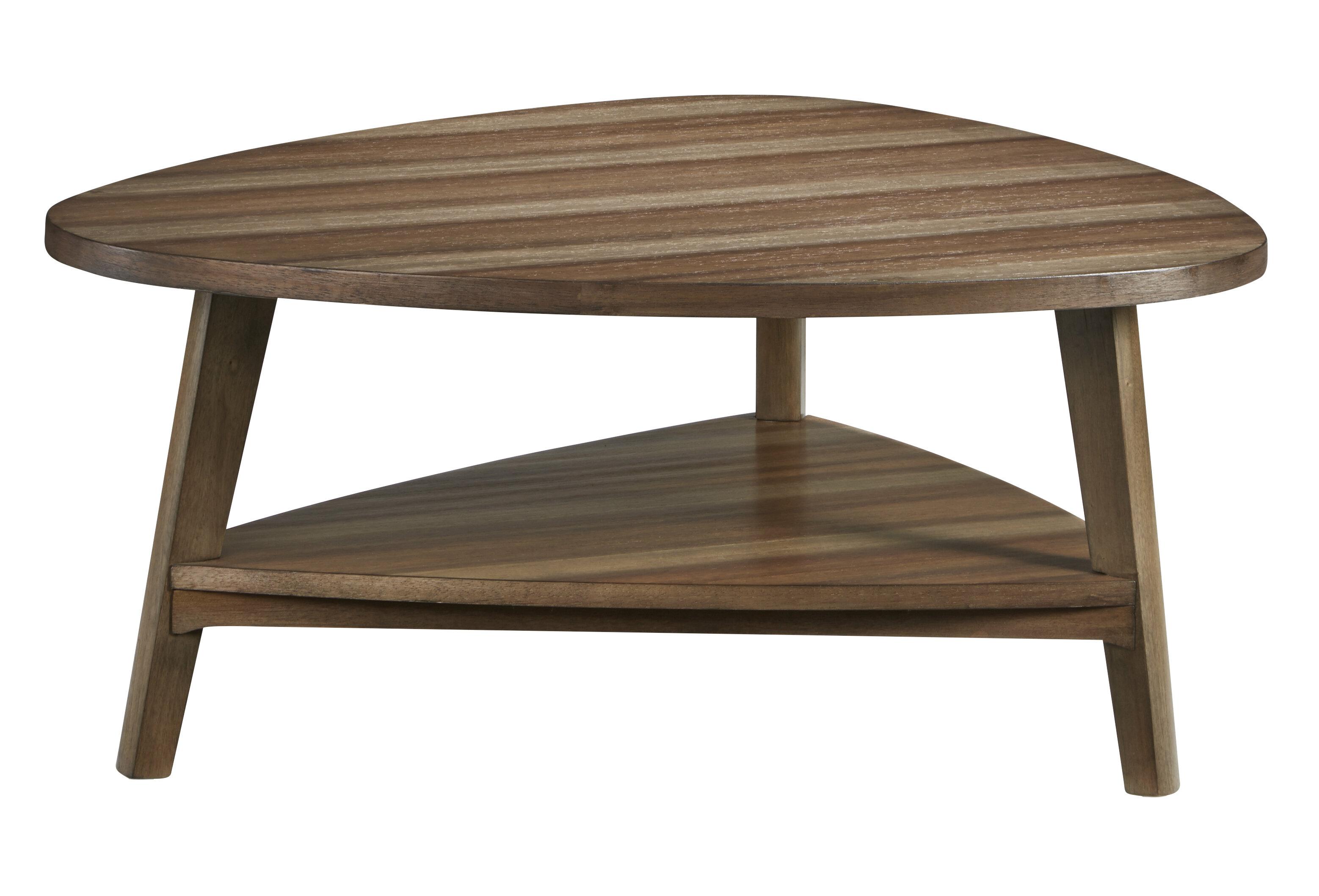 Corrigan Studio Armitage 3 Legs Coffee Table With Storage Wayfair