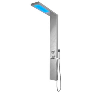 Nezza Fin LED Shower Panel..