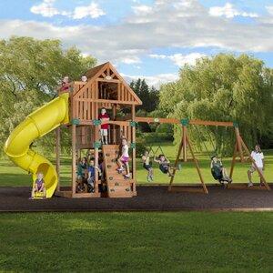 Excursion Cedar All Cedar Swing Set