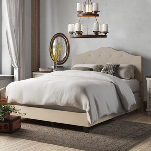 Compare prices Cassandra Upholstered Panel Bed by Birch Lane™ Heritage Reviews (2019) & Buyer's Guide