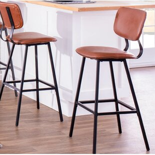 Benavidez 29.5 Bar Stool (Set of 2) Foundry Select