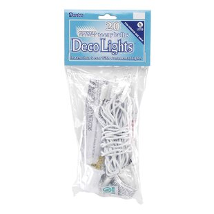 Brielle Bulbs 20 Globe String Light