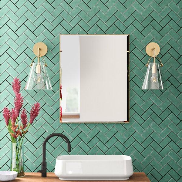 Geometric Mirror Wayfair
