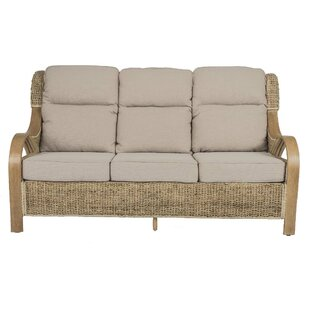 Humphries Banana Leaf 3 Seater Conservatory Sofa by Beachcrest Home