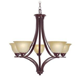 Woodbridge Lighting Marissa 5-Light Shade..