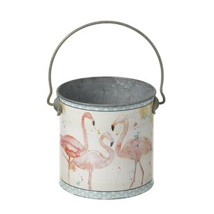 Fort Ransom Metal Cachepot By Lily Manor