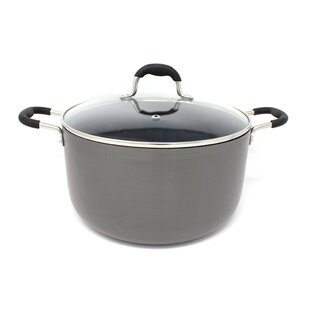 Hard Anodized Round Dutch Oven