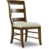 Archivist Upholstered Ladder Back Side Chair (Set of 2) by Hooker Furniture