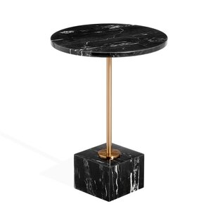 Rain Marble End Table by Interlude