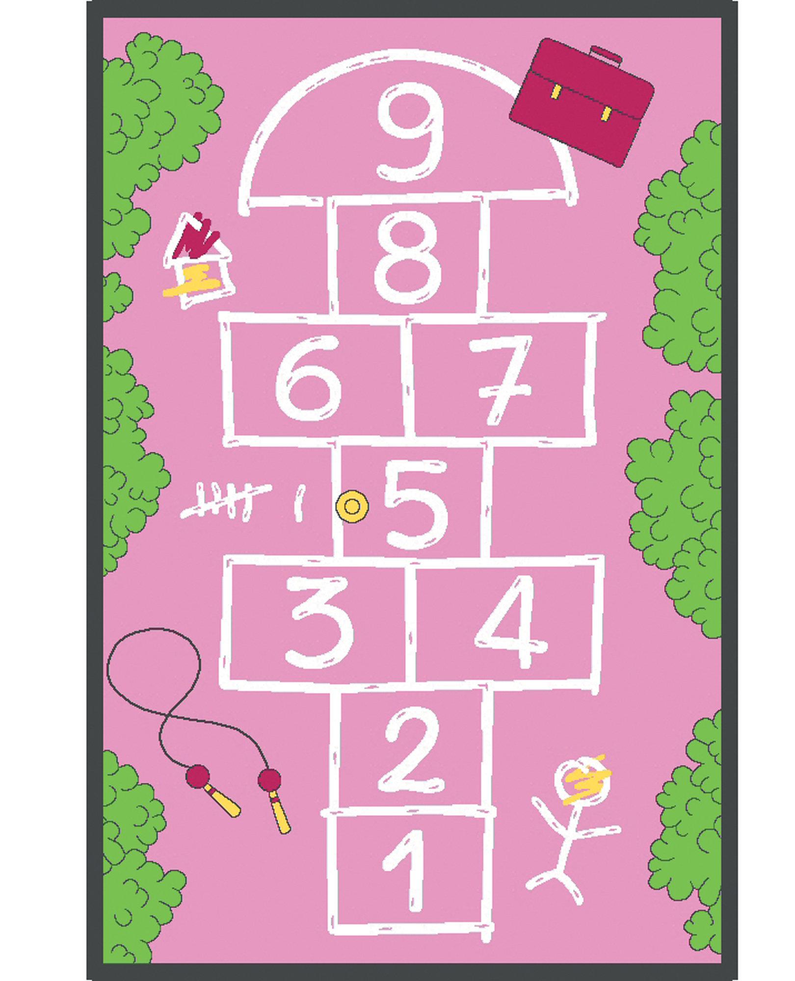 Learning Carpets Flatweave Pink Green Indoor Outdoor Area Rug Wayfair