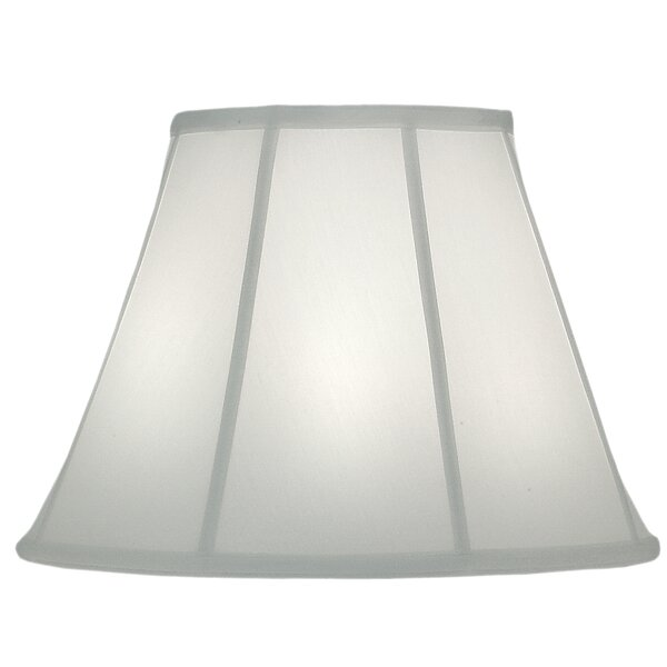 Darby Home Co 12 H X 16 W Linen Bell Lamp Shade Spider In Ivory Wayfair