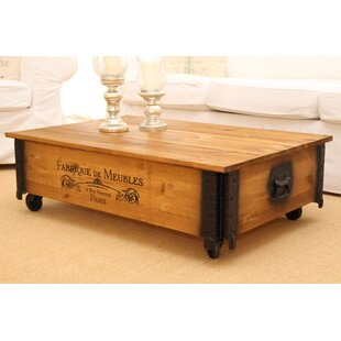 Andrea Coffee Table By Union Rustic