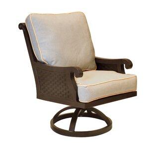 Jakarta Swivel Rocking Chair with Cushion Leona
