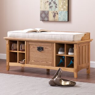 Arianna Artisan Storage Bench by Wildon Home®