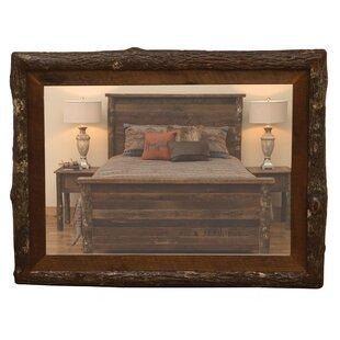 Fireside Lodge Crockett No Glass Accent Mirror