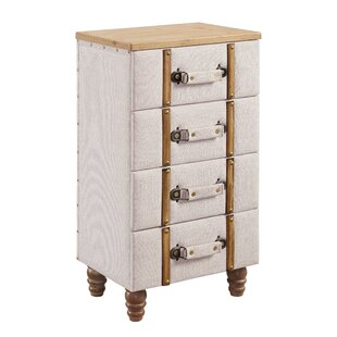 Rowan Padded 4 Drawer Accent C..