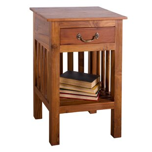 Mercedes 1-Drawer Nightstand by August Grove