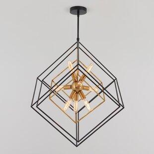 Brass Finish Geometric Chandeliers You Ll Love In 2021 Wayfair