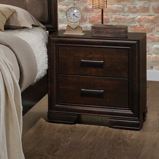 Westrick 2 Drawer Nightstand by Gracie Oaks