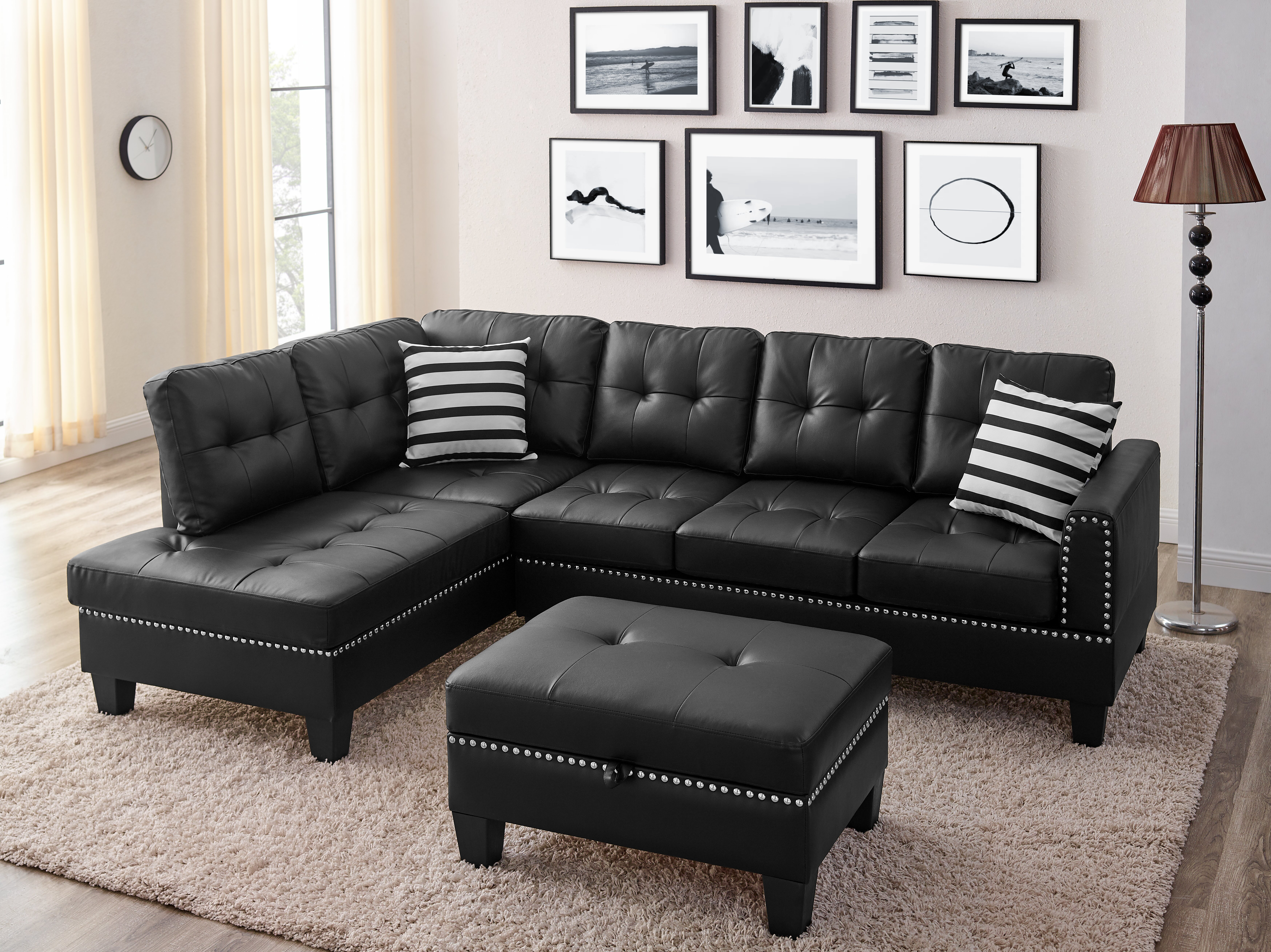 Black Winston Porter Sectionals You Ll Love In 2021 Wayfair