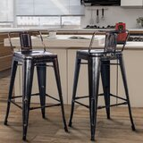Machen Bar Stool (Set of 2) by 17 Stories