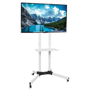 Mobile TV Cart Tilt Floor Stand Mount For 32