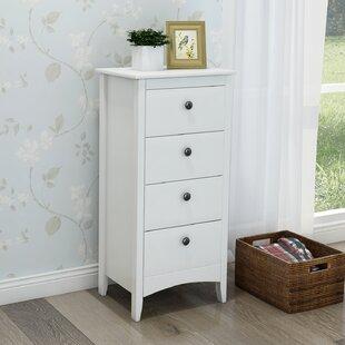 Bock 4 Drawer Bedside Table By Brambly Cottage
