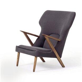 Edwardo Wingback Chair by Corrigan Studio