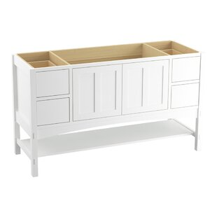 Marabou? 60 Vanity with 2 Doors and 4 Drawers, Split Top Drawers by Kohler