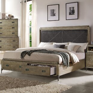 Sadee Upholstered Storage Panel Bed by 17 Stories