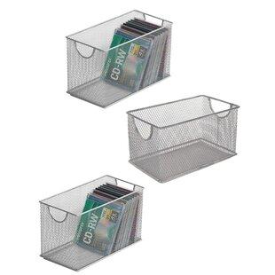 3 Piece Mesh Storage Box Set