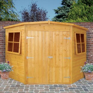 Plourde 10 Ft. W X 10 Ft. D Shiplap Pent Wooden Shed By Sol 72 Outdoor