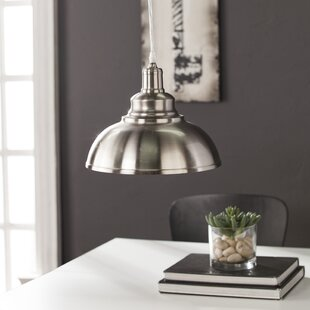 Williston Forge Girouard 1-Light Inverted Pendant
