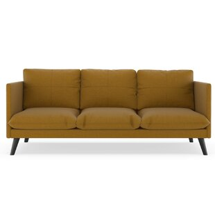 Rodgers Linen Weave Sofa by Brayden Studio